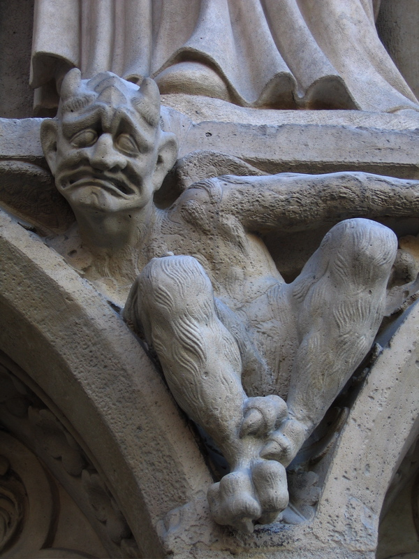 gargoyles and grotesques. when and why did gargoyles