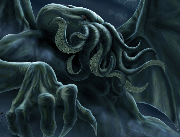 HP Lovecraft's Cthulhu in Motif