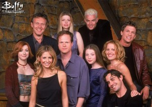 Buffy+and+Cast